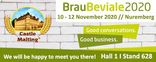 BrauBeviale 2020 (Nuremberg, Germany), 12 - 14 November